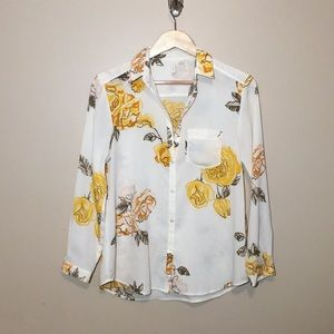 Anthropologie French blouse S